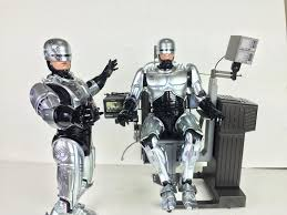 Mechanical Chair Toys Movie Masterpiece Diecast Robocop Figure With Mechanical