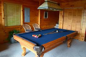 leisure bay pool table heavenly cabins smoky mountain cabin rentals pet friendly 2