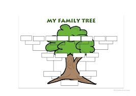coloring pages family tree printables family tree blank template