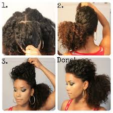 a quick and easy hairstyle i can fo myself beautiful easy natural hairstyles for long hair bravodotcom com