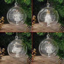 glass tree ornaments ebay
