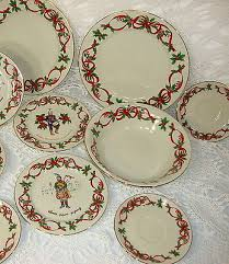 15 pc noble excellence 12 days of dinnerware set plates