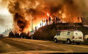 Canada Wildfire App by Canadian Town Evacuated As Wildfire Approaches Fort Mcmurray In