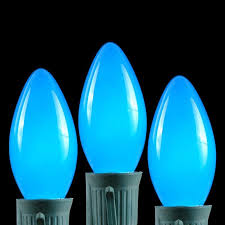 c9 ceramic and opaque replacement light bulbs