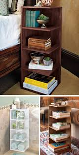 reader u0027s nightstand just one square foot and this 4 shelf stand is