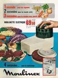moulinette cuisine f publicité advertising 1966 de cuisine moulinette electrique