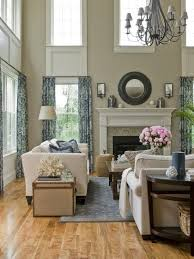 Decorating Ideas For High Ceiling Living Rooms Cottage And Vine Decorating Ideas For High Ceilings