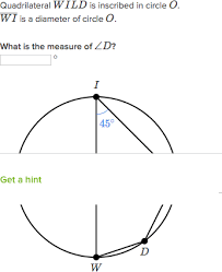 Interior Angles In A Circle Inscribed Shapes Find Inscribed Angle Video Khan Academy