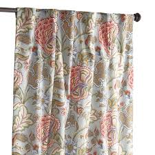 Floral Curtains Floral Blue Meadow 96 Curtain Pier 1 Imports