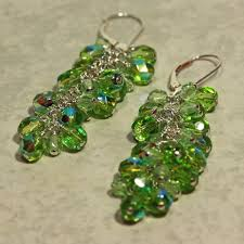 sparkly green earrings sparkly green earrings y all limefreckle