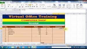 sales tax invoice create invoice and calculate total amount discount general sales