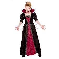 victorian vampire costume girls halloween vampire fancy dress age