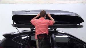 silver nissan rogue 2012 review of the thule sonic xxl rooftop cargo box on a 2012 nissan