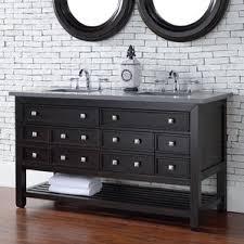 Oak Vanity Table With Drawers Dark Oak Vanity Wayfair