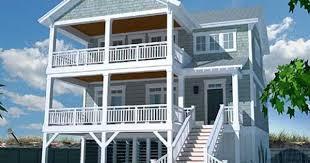 Coastal House Designs Hurricane Proof Two Story Stilt House Design Built In The Florida