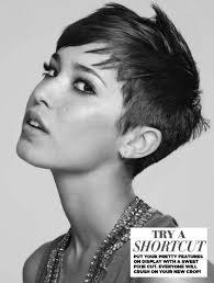 shortcut for black hair edgy short hair pixie haircuts popular haircuts