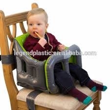baby high chair that attaches to table pvc baby feeding high chair inflatable portable booster seat buy