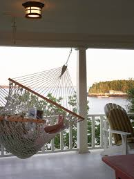 delightful indoor hammock bed decorating ideas for family room