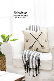 Couch Pillow Slipcovers New Farmhouse Pillow Cover And A Pillow Obsession