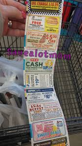 couponing money saving tip check the back of the receipts