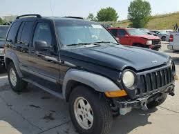 black 2005 jeep liberty 1j4gk48k75w560215 2005 black jeep liberty sp on sale in co