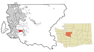 Map Of Seattle Gangs And by Covington Washington Wikipedia