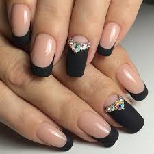 Ideas For Black Best 25 Black Nail Designs Ideas On Black Nails