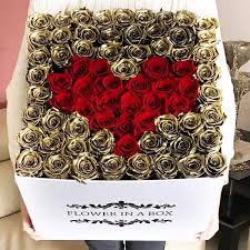 roses in a box lasting roses and fresh roses in box and enchanted dome