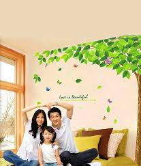 Snapdeal Home Decor Wow Interiors And Decors Natural Tree Wall Sticker Buy Wow