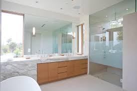 bathroom frameless mirrors bathroom mid century modern bathroom vanity led light with marble