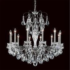 Lead Crystal Chandelier Lighting Schonbek Lighting Crystal Chandeliers Ebay Ebay