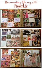 vacation photo albums documenting a disney vacation with project capturing magic