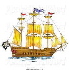 royalty free ship stock pirate designs