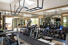 Decorating Home Gym Jewel Of Maui Residence In Hawaii Luxury Estate Interiors And