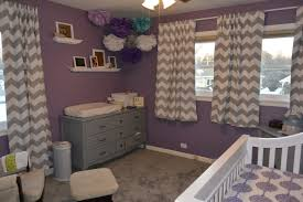 Gray And Teal Bedroom by Room Tour Adleigh U0027s Nursery Teal Nursery Purple Gray And Teal