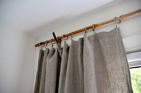Curtain Rods 16 Creative Diy Curtain Rods Ideas Curtain Holder Ideas Autour