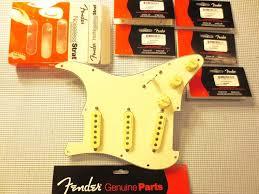 new fender noiseless jeff beck pickups prewired loaded
