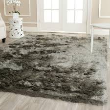 Grey Shaggy Rugs Decor 8x10 Grey Rug With Fluffy Shag Rug Also Grey Shag Rug And