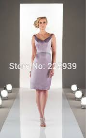aliexpress com buy simple and elegant short light purple