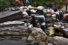 Rock Garden Planters by Appealing Planters Placement In Rock Garden Ideas With Crack