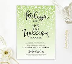 green wedding invitations green wedding invitations lemonwedding