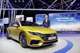 volkswagen arteon r line new 2018 vw arteon four door coupe is the cc u0027s more upscale