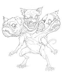 cerberus pug by mikebowden on deviantart
