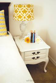 White Furniture Paint While They Snooze How To Make Chalk Paint