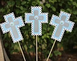 centerpieces for baptism baptism centerpieces etsy