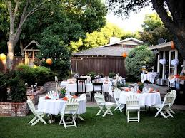 Backyard Wedding Centerpiece Ideas Ideas 10 Stunning Backyard Wedding Decorations Regarding 50th