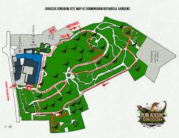 Jurassic World Map by Birmingham U2013 Jurassic Kingdom