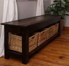 Plans For A Wooden Bench With Storage by Bedroom Amazing Dining Room Storage Bench Built In Finest Table