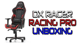 siege dxracer dx racer racing pro unboxing montage german