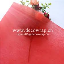 waterproof wrapping paper 25g plain non woven waterproof wrapping paper for flower view